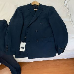 Other - Double Breasted Suit 42 R Jacket, 36 Pants